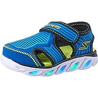 Skechers Hypno-Splash - Zotex Boys Sneakers, Blue/Lime