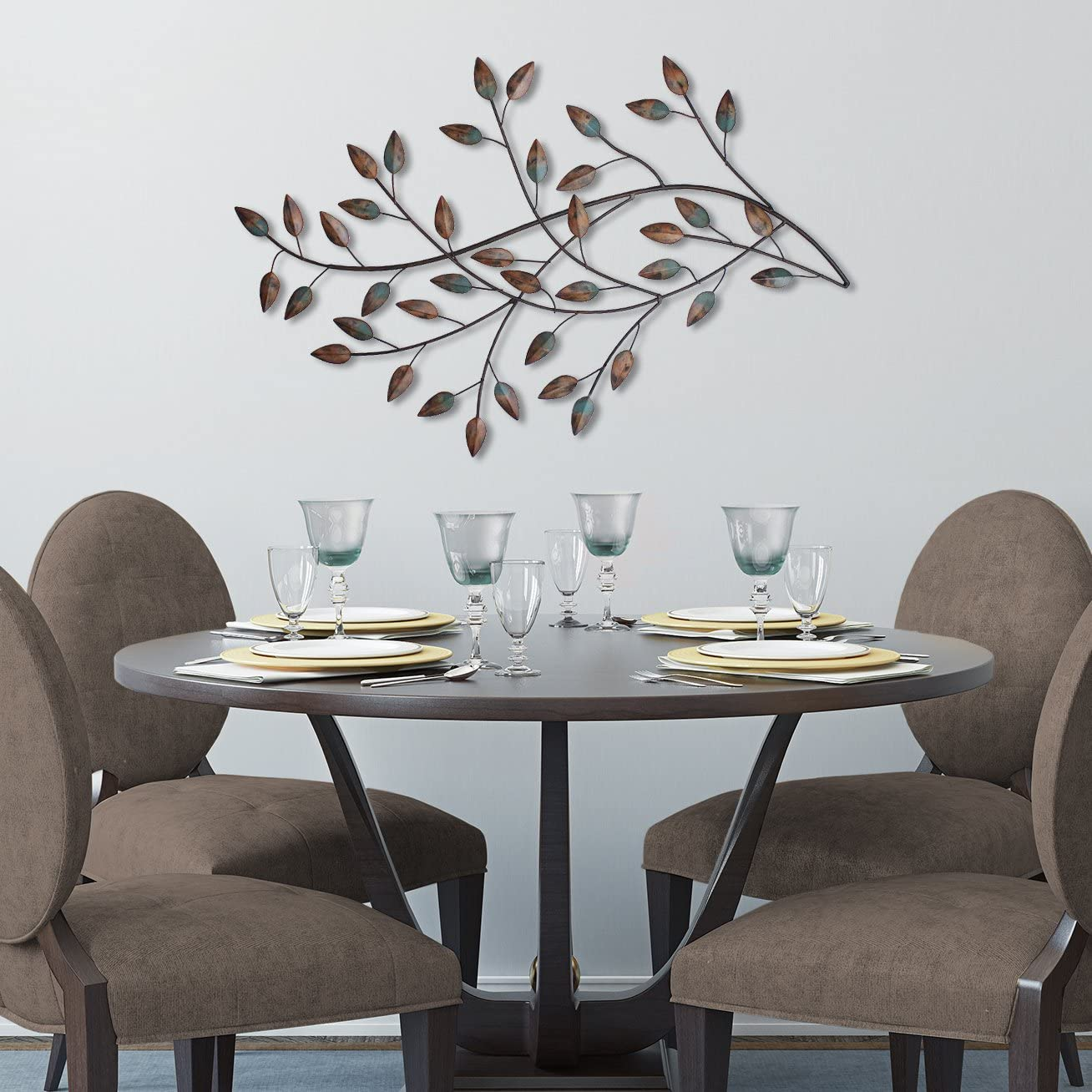 Stratton Home D/écor SHD0119 Blowing Leaves Wall Decor