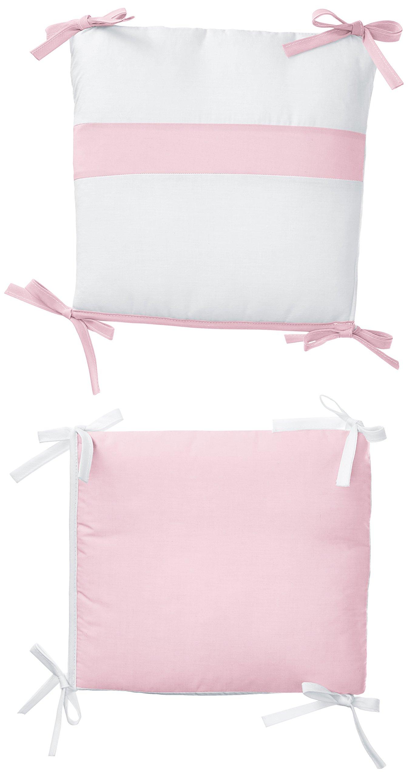 Baby Doll Bedding Junior Rocking Chair Cushion Pad Set for Child/Toddler Rocker, Pink