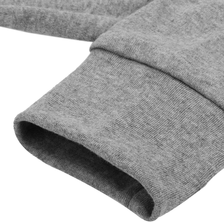 BUOYDM Maglia Donna Maglietta Rotondo Manica Lunga Casual T Shirt Eleganti Stampa Labbra Basic Camicetta Top