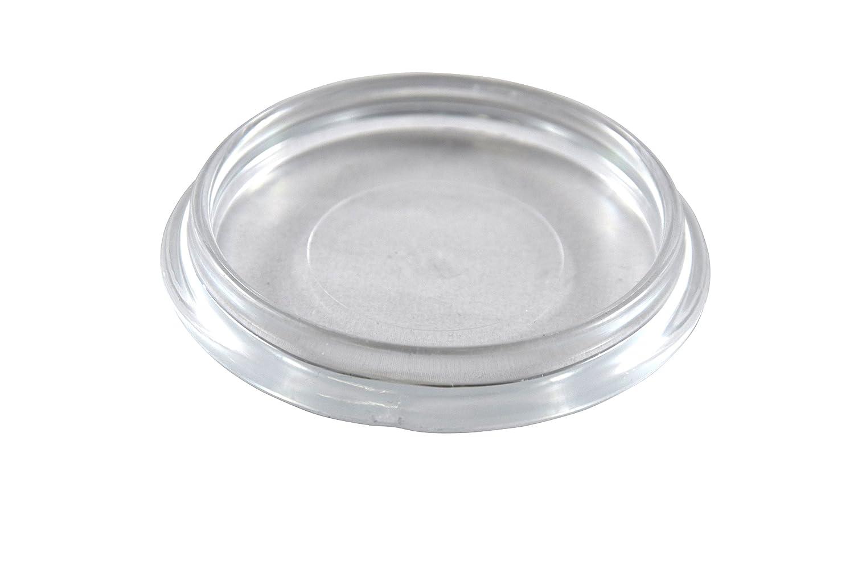 Lubrifiant bien Meubles Lot de 4 dessous-de-verre 50 mm ronde Meubles Protection Transparent GleitGut GmbH