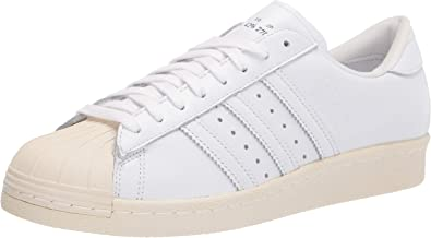 adidas Originals Mens Superstar 80s Recon Leather Fitness Sneakers