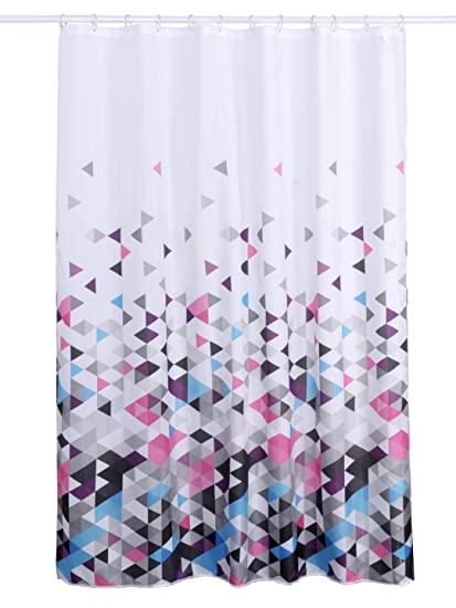 Obsessions Glam 100% Textile Polyester Shower Curtain 180 X 200 cm