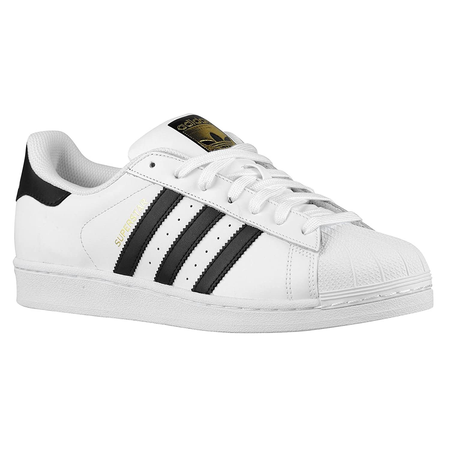 reputable site fcf18 891ac adidas Originals Men's Superstar Casual Sneaker, White/Core Black/White,  9.5 M US