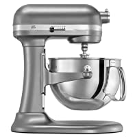 Deals on KitchenAid KP26M1XER Professional 600 Series Stand Mixer 6 Quart Refurb