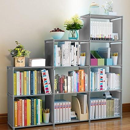 Clewiltess 9 Cube DIY Storage Bookcase,Bookshelf for Kids,Home Furniture  Storage Shelves Closet Organizer Rack Cabinet for Bedroom Living Room  Office, ...