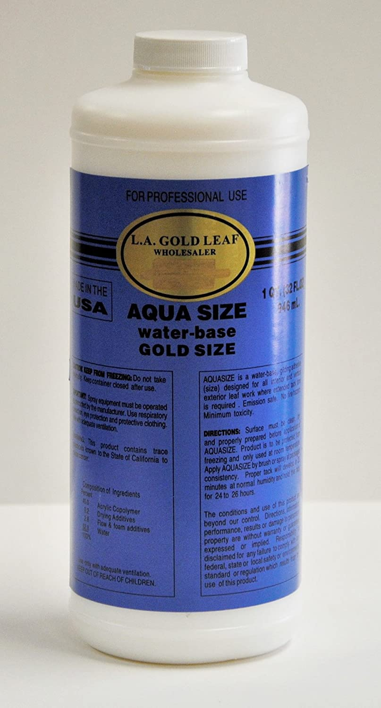 Gold Leaf Red Burnish Sealer Primer 32 Oz. Quart L.a