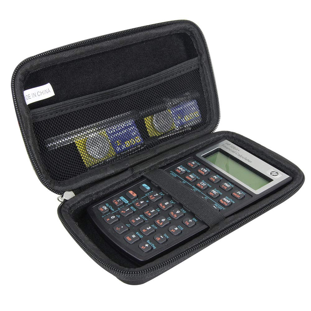 Hermitshell Hard Travel Case for HP 10bII+ Financial Calculator (NW239AA) by Hermitshell