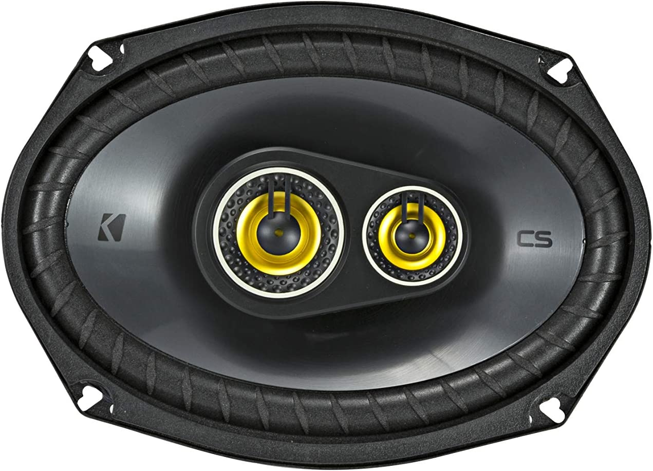 4-Ohm 160x230mm Two Pairs of CS-Series CSC693 6x9-Inch Kicker 46CSC6934 2 Pairs 3-Way Speakers