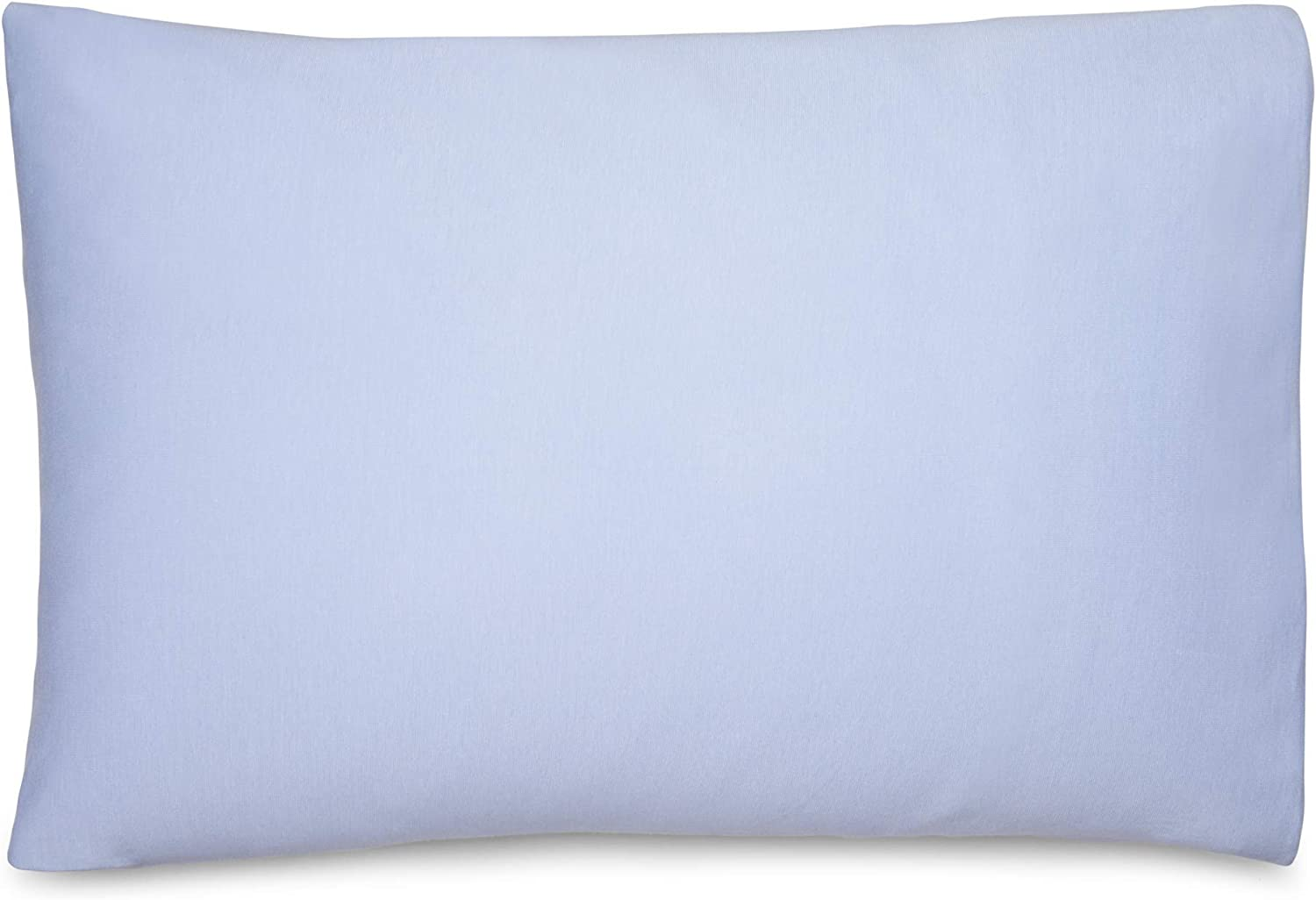 Calvin Klein Home Modern Cotton Harrison Pillowcases, King, Solid Periwinkle