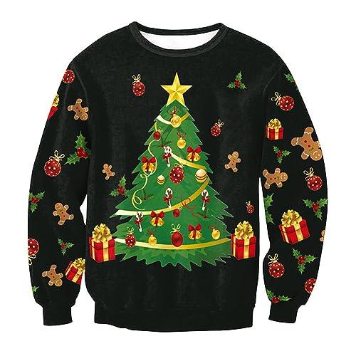Suéter de Navidad de las mujeres - 2017 Otoño e Invierno Jersey de punto de moda Casual Sudadera de ...