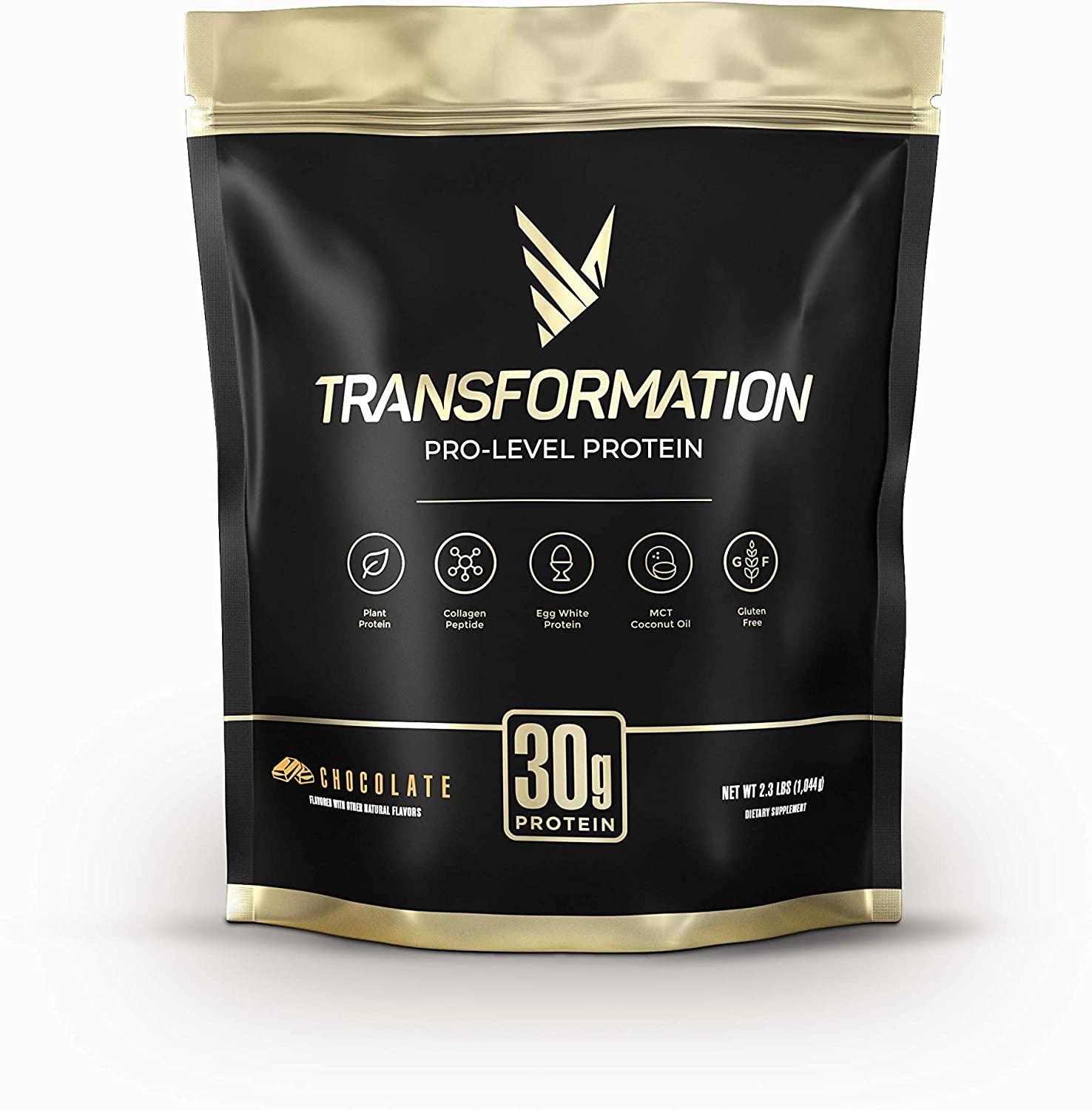 Transformation Chocolate Protein Powder | 30G Multi-Protein Superblend | Collagen Peptides, Egg White & Plant Blend | MCT Oil | BCAA Amino Acids | Probiotics & Enzymes | Low Carb Shake for Men & Women