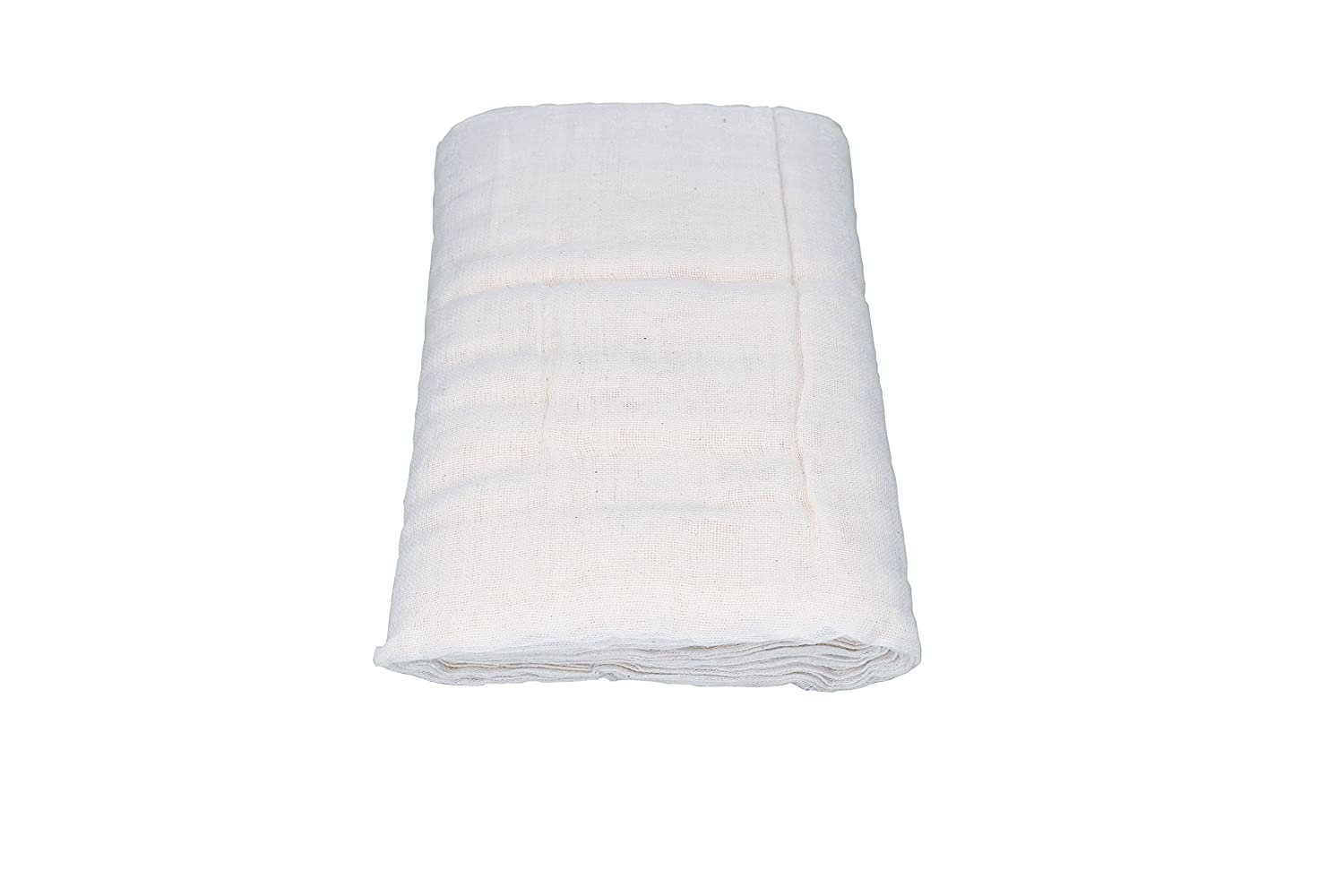 100% Natural Unbleached Cotton Cheesecloth . Quality Fine Mesh for Excellent Straining. Lightweight Durable Reusable and Breathable. Many Kitchen and Craft uses. Grade 60. Economical 45 sq feet eComRex HBG-CC-W-1