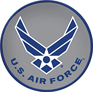 Spoontiques 13145 U.S. Air Force Stepping Stone, Multicolored