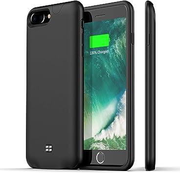 Coque de protection pour iPhone 7 Plus 8 Plus - Noir