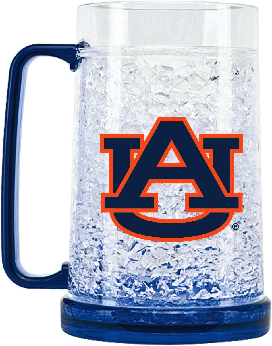 NCAA Auburn Tigers 16oz Crystal Freezer Mug