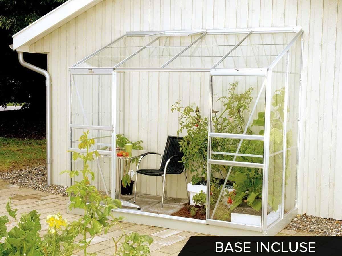 lams 788710 Invernadero IDA 3300 ALU + Vidrio Templado + Base, Aluminio: Amazon.es: Jardín