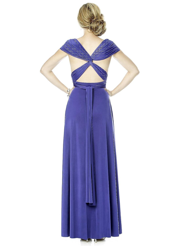 Amazon.com: Maracaine Jersey Twist Wrap Dress : Long: Clothing