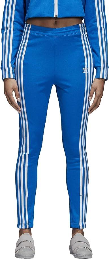 adidas Pantalon Track Bleu/Blanc