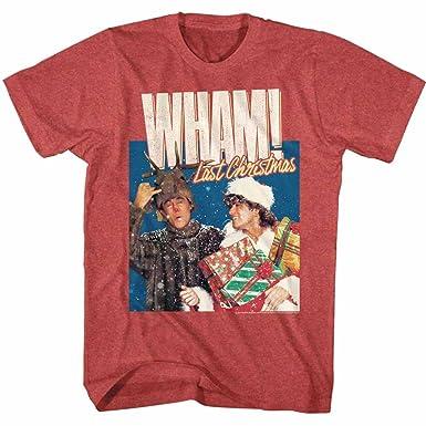 fc4fe5cc4 Amazon.com: American Classics Wham English Music Duo Chrimuh Red Heather  Adult T-Shirt Tee: Clothing
