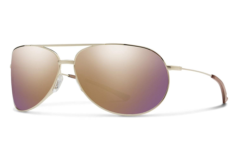 Smith rfpcrgmgd Herren Gold Rahmen Braun Objektiv Aviator Sonnenbrille