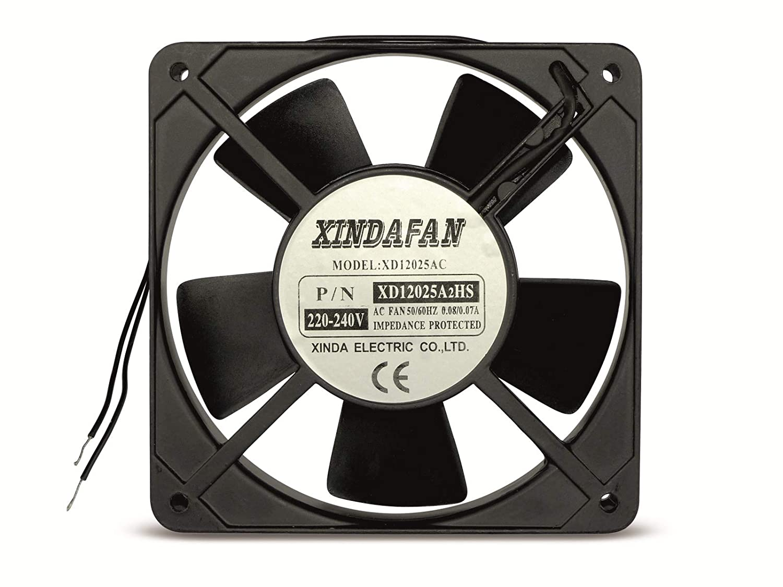 Ventilateur Fan 230 V 120 x 120 x 25 mm 230 V AC: Amazon