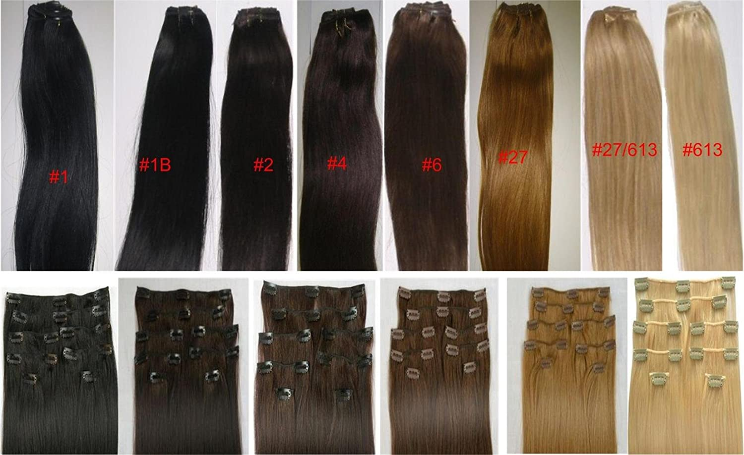 Amazon 18 clip in human hair extensions 10pcs 100g color amazon 18 clip in human hair extensions 10pcs 100g color 2 dark brown health personal care pmusecretfo Image collections