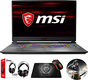 "MSI GP75 Leopard 10SFK-219 (i7-10750H, 16GB RAM, 1TB NVMe SSD, RTX 2070 8GB, 17.3"" Full HD 240Hz 3ms, Windows 10) Gaming Notebook"