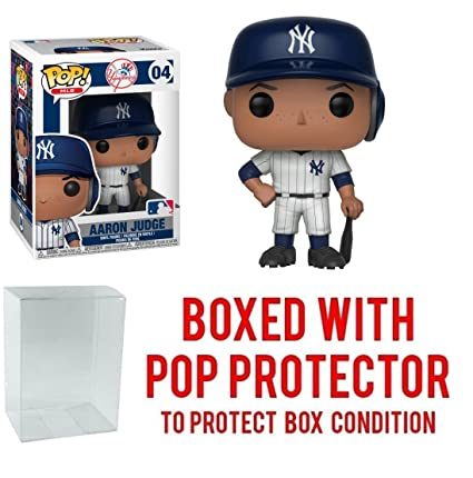 dcb313acb29 Image Unavailable. Image not available for. Color  Funko POP! Sports MLB  New York Yankees Aaron Judge Action Figure ...