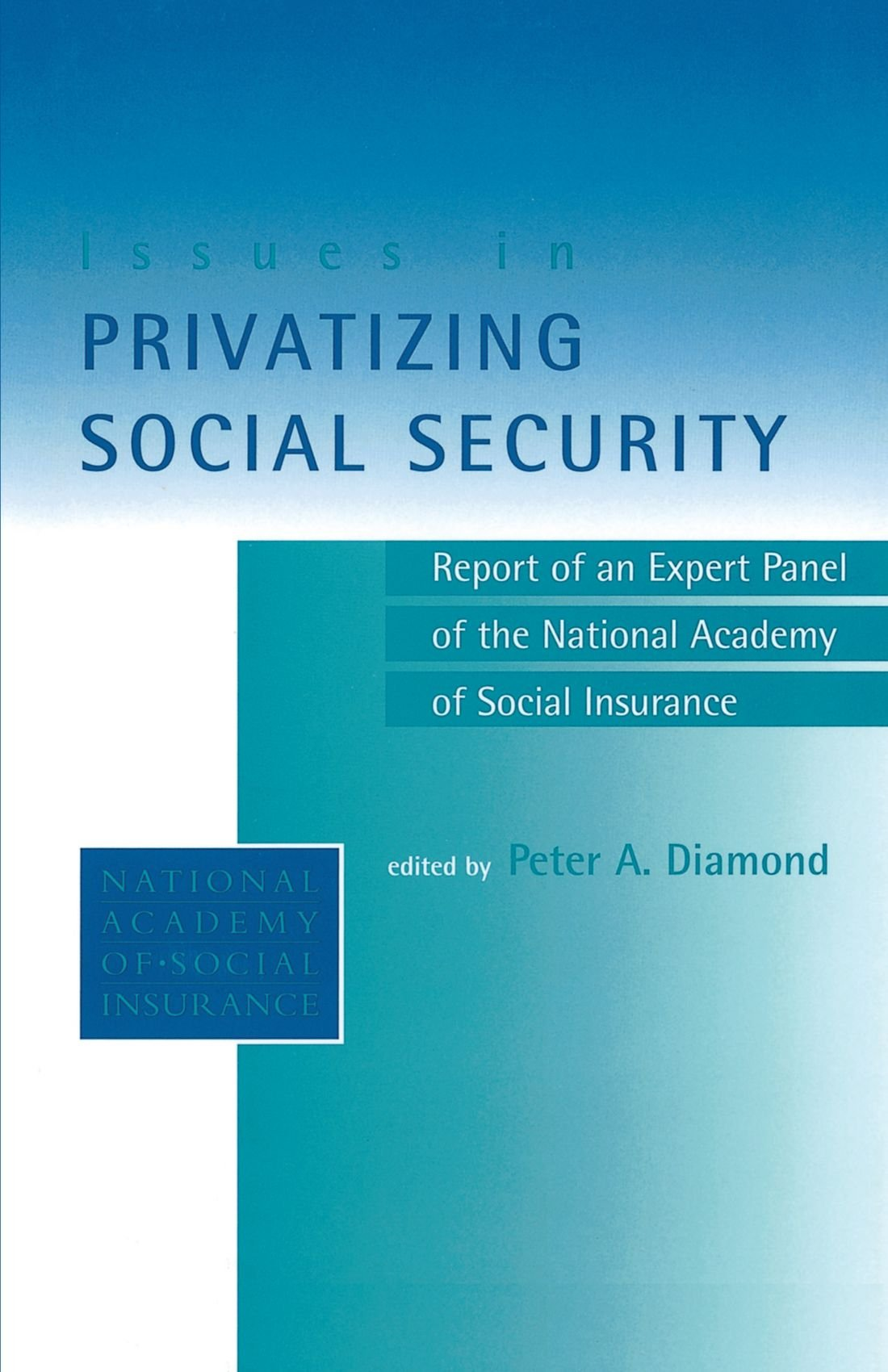 Download Issues in Privatizing Social Security: Report of an Expert Panel of the National Academy of Social Insurance pdf epub