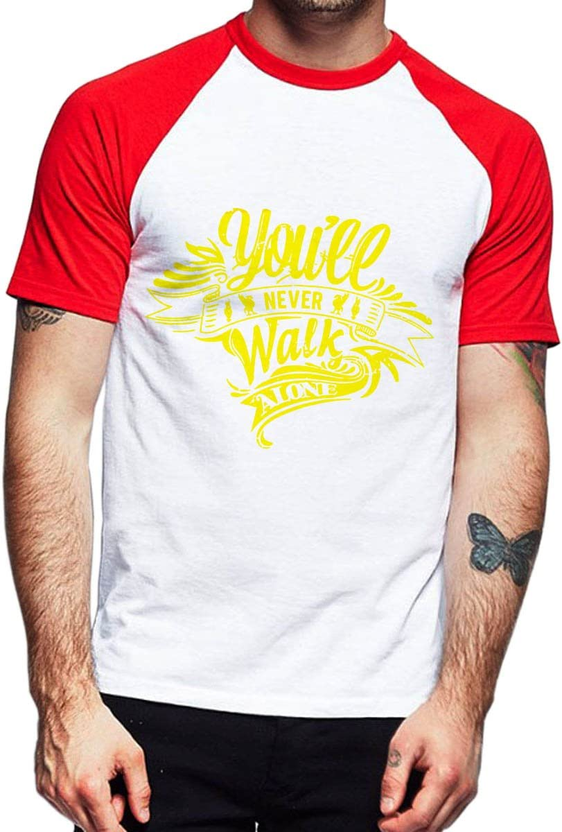 You ll nunca caminar solo Liverpool camiseta de manga corta ...