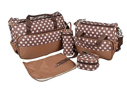 b48197af04a Set 5 kits Bolsa de Mama Para Bebe Biberon Bolso Bolsa Bolsillo Maternal  Bebé