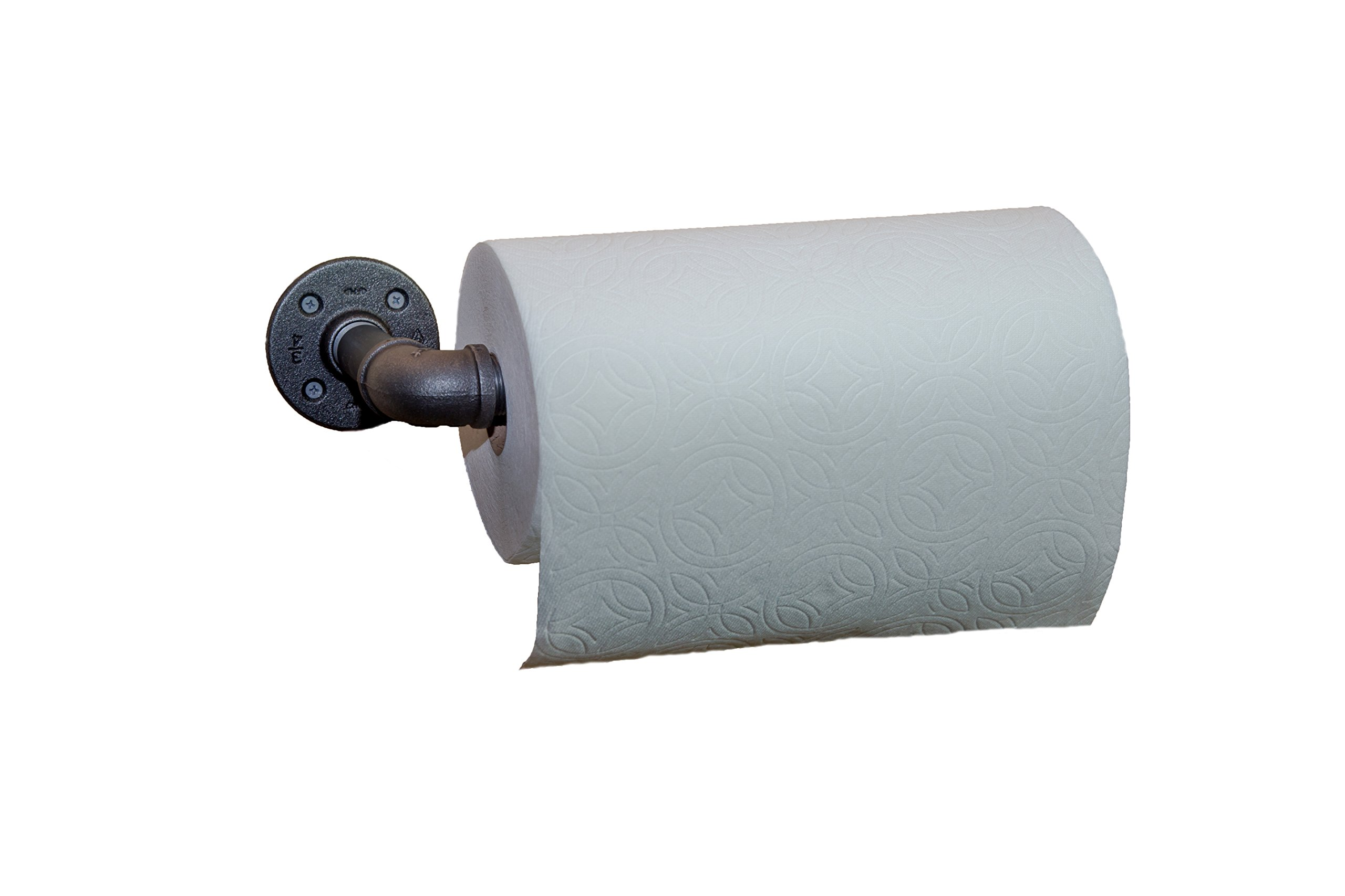 SOLO MTN Industrial Pipe Paper Towel Holder Wall Mount (graphite)