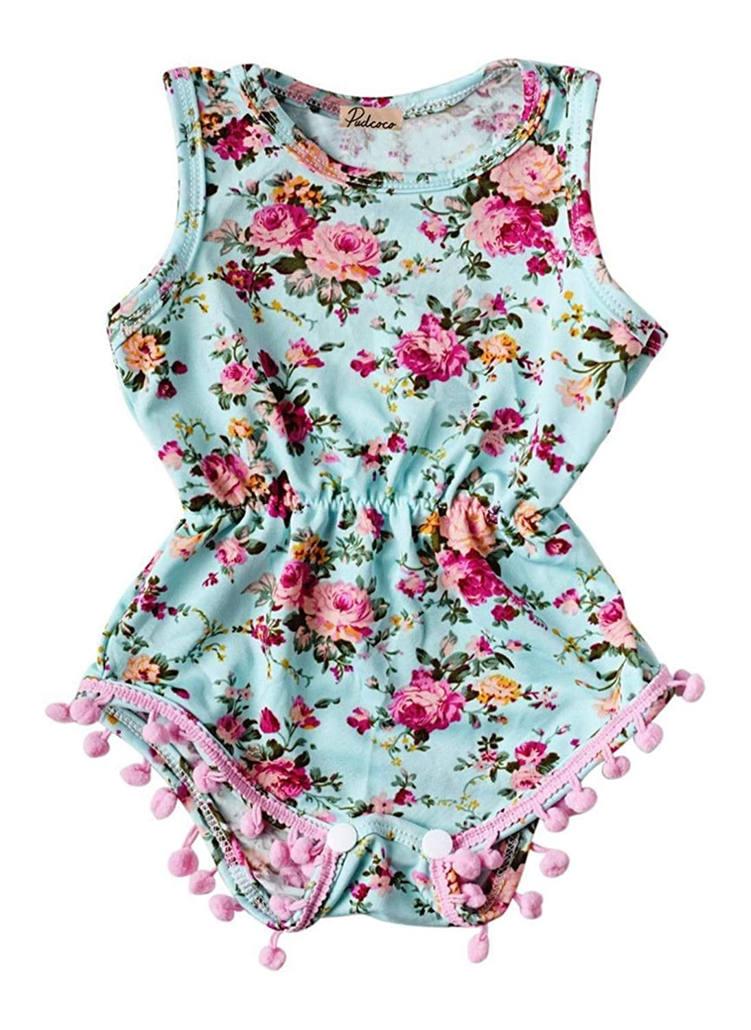 Cobikids Baby Girls Cute Rompers Bodysuits Outfits One Piece
