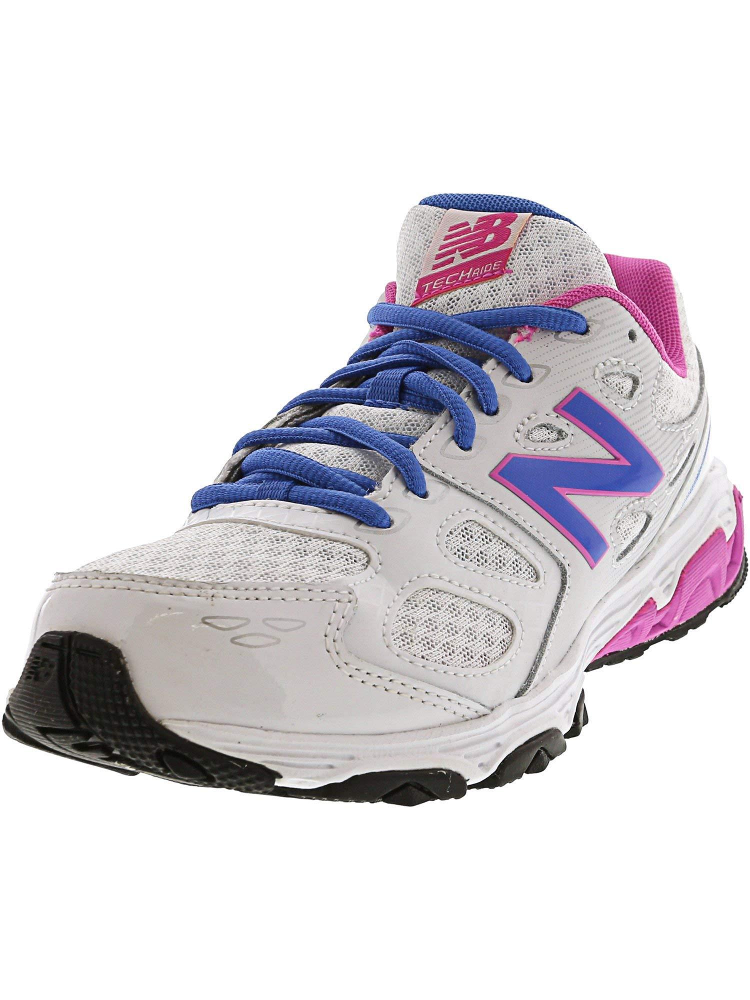 New Balance - Boys KR680V3Y Kids Shoes, Size: 4.5 M US Big Kid, Color: White/Blue