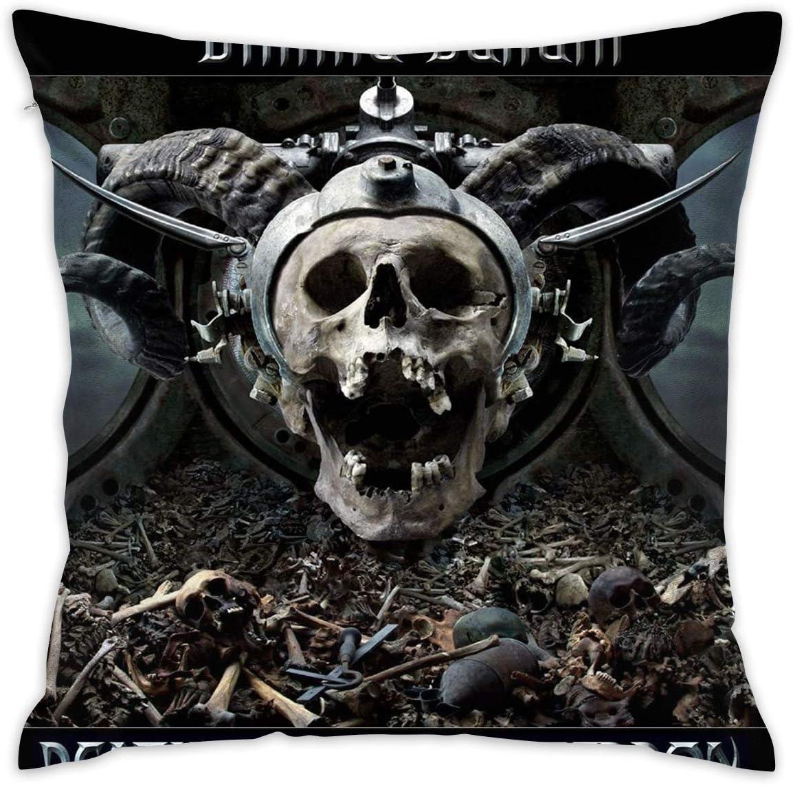 Amazon Com Larry C Adamson Slayer Band Throw Pillow Case Decorative Cushion Cover Pillowcase For Sofa 20 X 20 Home Kitchen