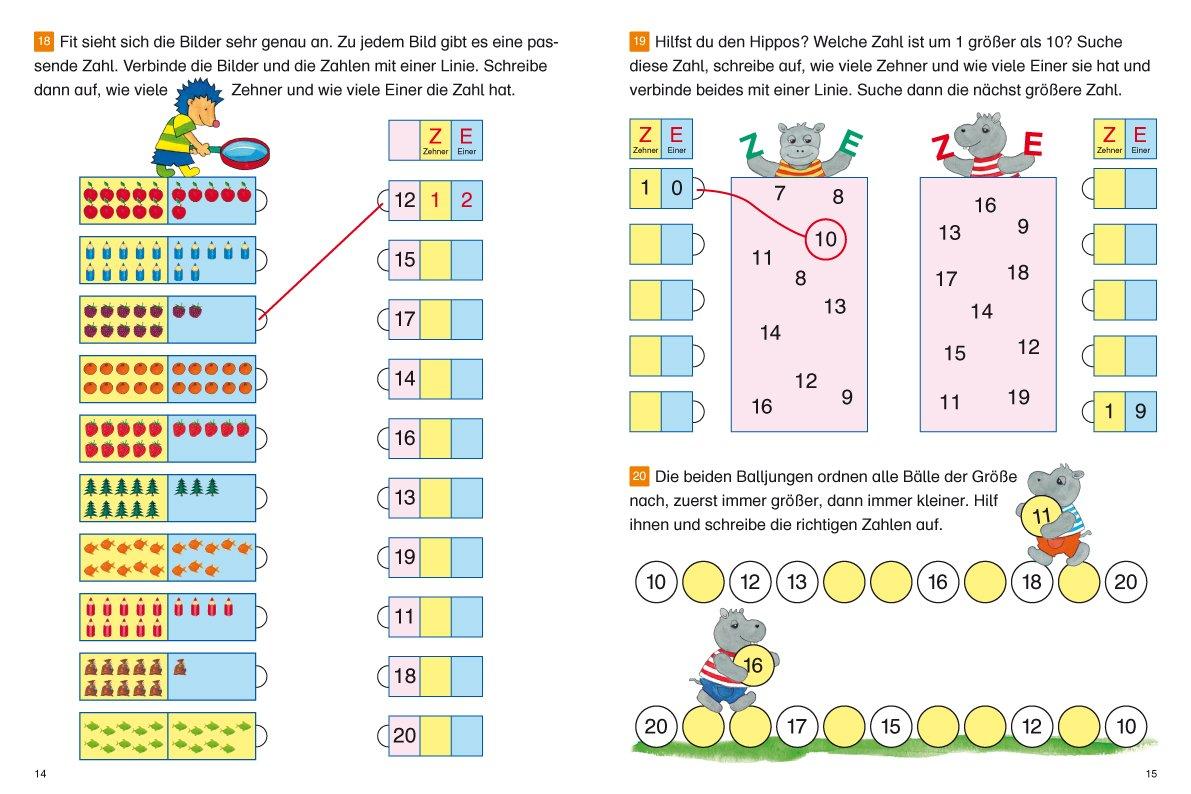 Fragenbär - Richtig rechnen 1. Klasse: Übungen mit Plus und Minus ...
