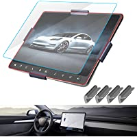 Tesla Model 3 Center Control Touch Screen Car Navigation Tempered Glass Screen Protector, 9H Anti-Scratch and Shock…