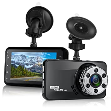 Dash Cam,Bekhic Dash Camera for Cars with Full HD 1080P 170 ...