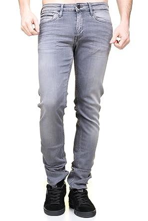 af5263ac061d6 Calvin Klein - Jeans J30j304295 Slim Straight 903 Gris - Taille W29 L34 -  Couleur Gris