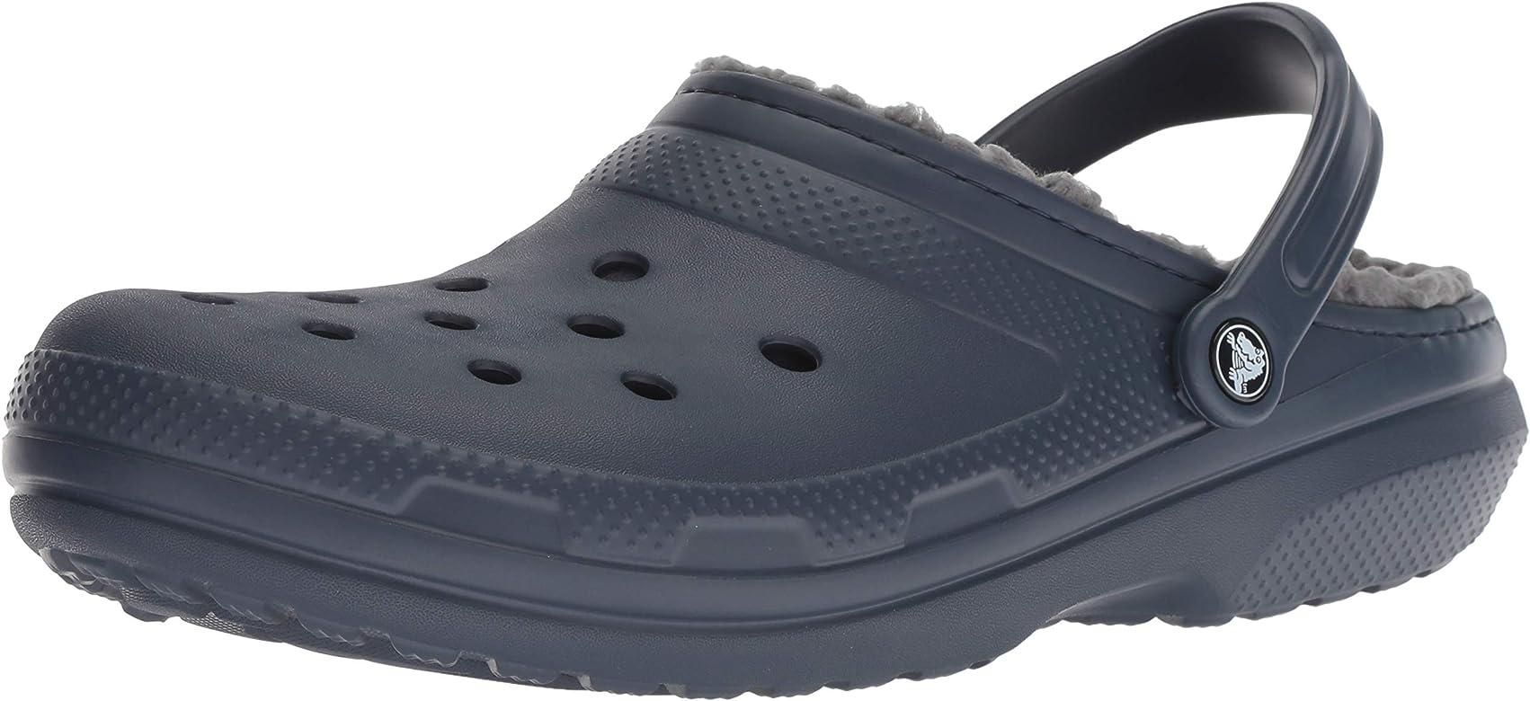 Charcoal//Light Grey 10 US Men M US 0 Crocs Classic Blitzen III Clog Shoe 12 US Women