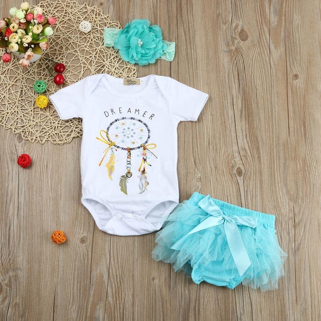 Vovotrade Toddler Infant Bodysuit Baby Boy Girl Basic Romper Leopard Print Jumpsuit with Headband Clothes Set