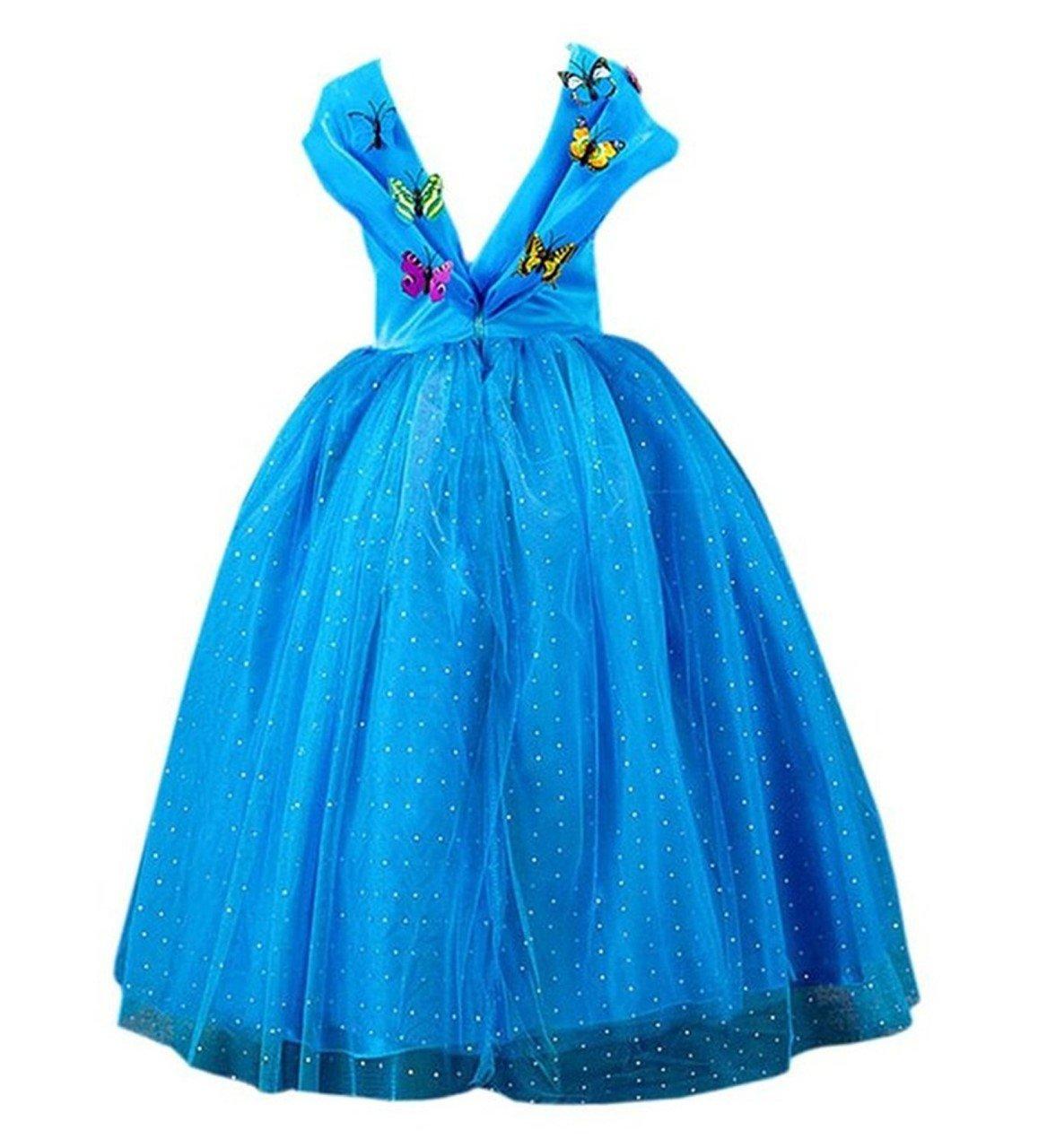 2-3 Ans, FR-CNDR4 ELSA /& ANNA/® Filles Reine des Neiges Princesse Partie Costum/ée D/éguisements Robe de Soir/ée FR-FBA-CNDR4
