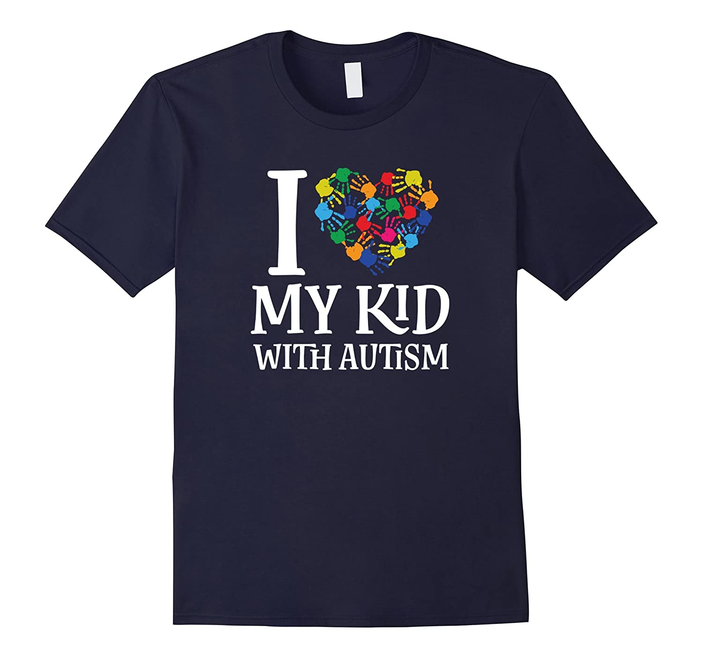 Autism Awareness Love My Kid Shirt-FL