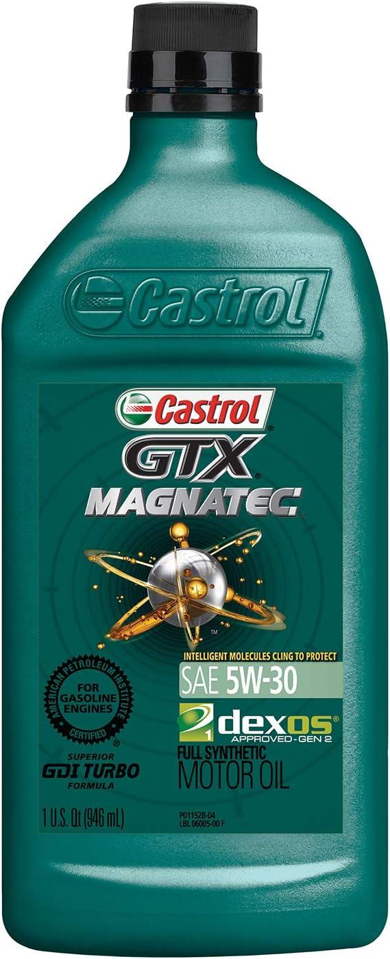 Castrol GTX MAGNATEC 5W-30 Full Synthetic Motor Oil