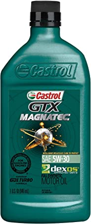 Castrol 6005 GTX MAGNATEC 5W-30 Full Synthetic Motor Oil, 1 Quart, 6 Pack