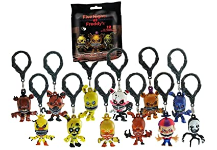 Amazon Com Five Nights At Freddy S Series 2 Backpack Hangers Blind