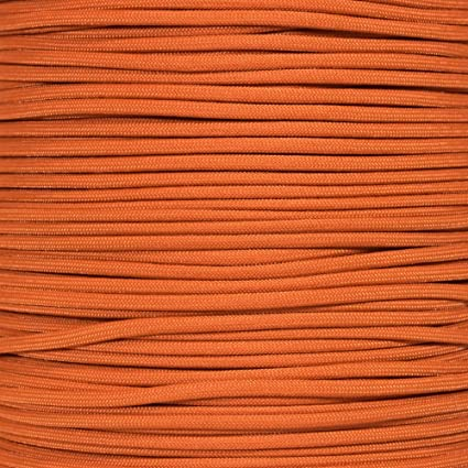 PARACORD PLANET 10 20 25 50 100 Foot Hanks and 250 1000 Foot Spools of Parachute 550 Cord Type III 7 Strand Paracord Rose Pink 100 Feet