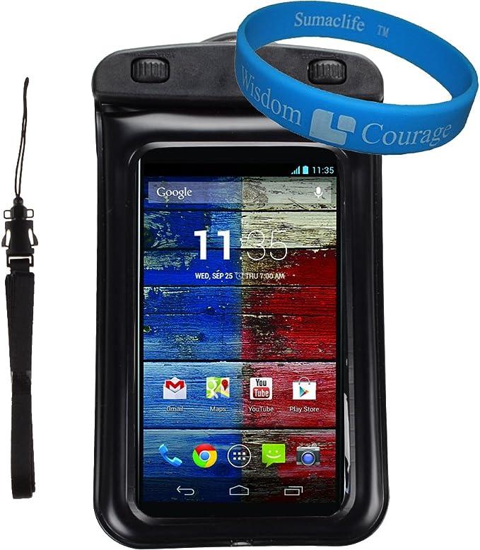SumacLife - Funda protectora universal impermeable para Motorola ...