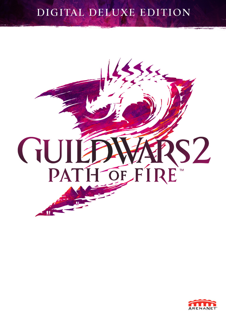 Guild Wars 2: The Path of Fire Digital Deluxe [Online Game Code] by ArenaNet